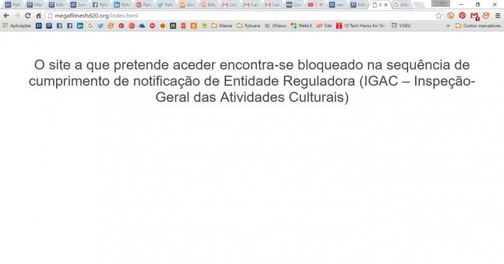 Concordam com o bloqueio de sites efectuado pelas operadoras