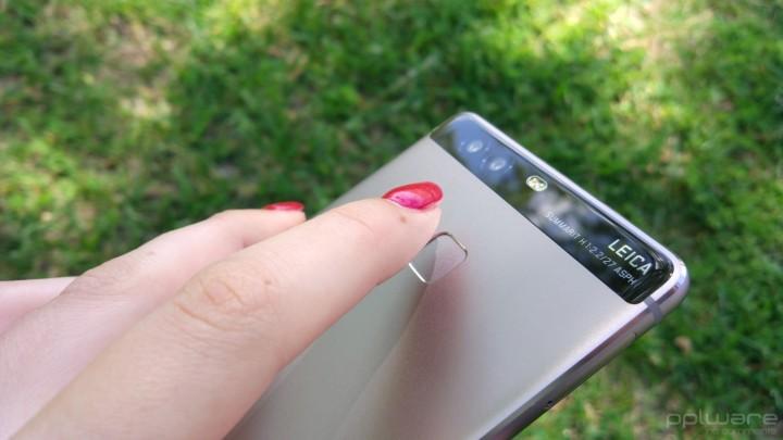 Huawei P9 - Impressões digitais