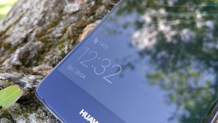 Huawei P9 - ecrã de bloqueio