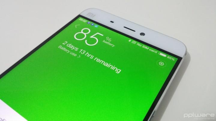 Xiaomi Mi5 - autonomia