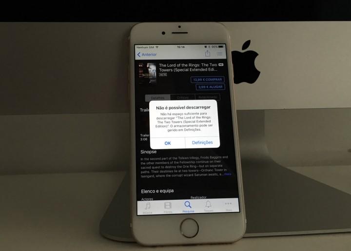 Pequeno truque que pode libertar gigas de espaço no seu iPhone