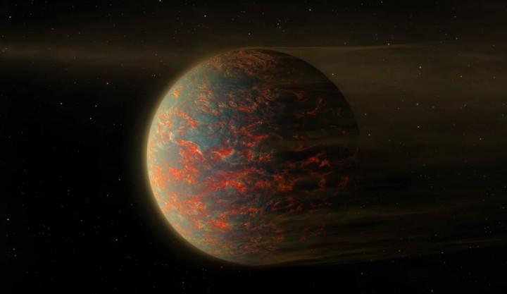 Há uma Super-Terra de duas caras: oceano de lava e noite eterna