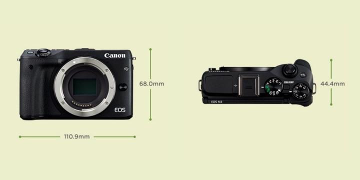 CanonM3-tamanho