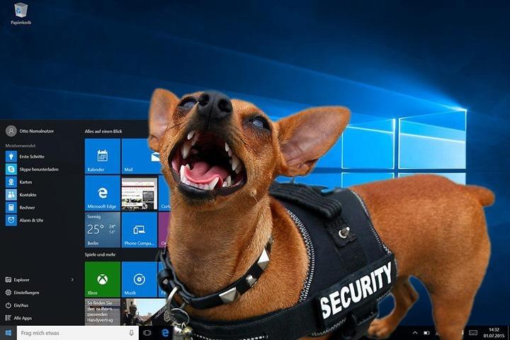 Windows-10-Virenschutz