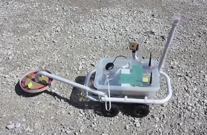 Raspberry Pi - Um robô detector de metais