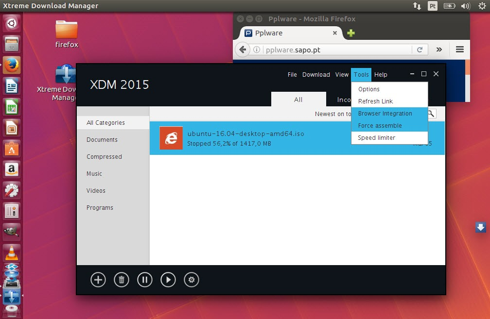 XDM: Downloads 500% mais rápidos no Linux - Pplware