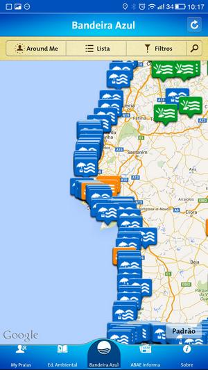 mapa de praias portugal Mapa Das Praias Fluviais Em Portugal | thujamassages mapa de praias portugal