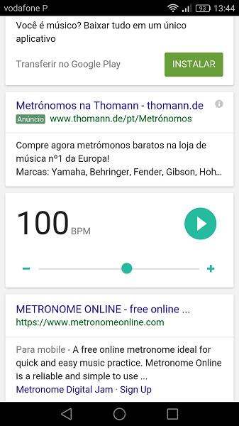 Google metronomo