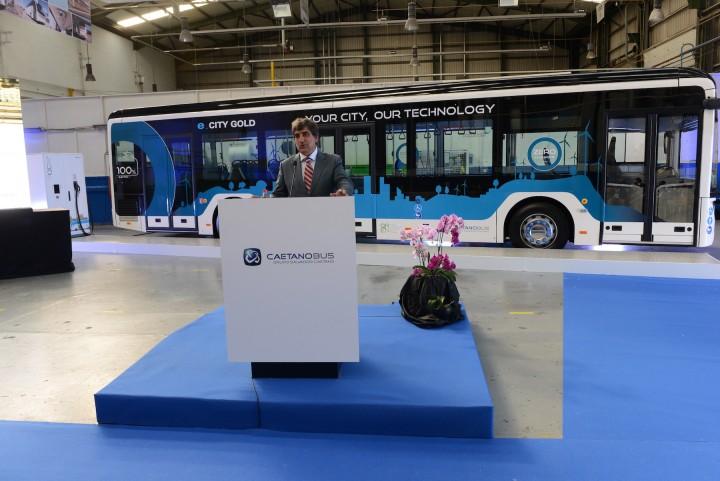 e.CityGold - Autocarro elétrico português estreia-se em Guimarães