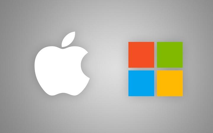 Apple e Microsoft