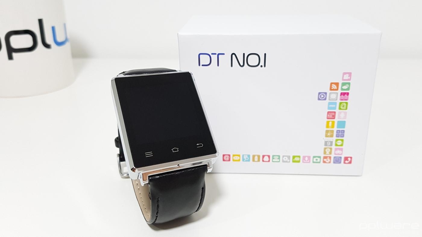 Unboxing: smartwatch NO.1 D6