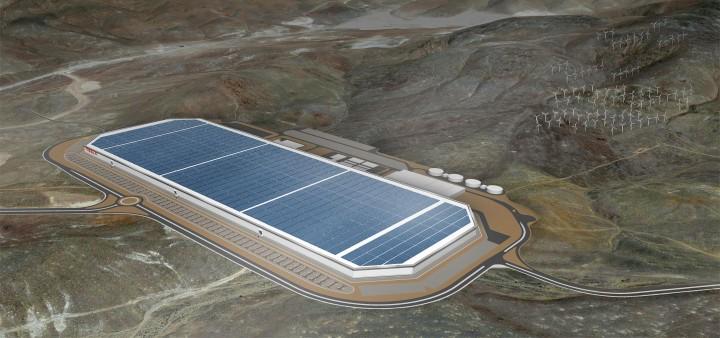 Gigafactory, a Super Fábrica da Tesla
