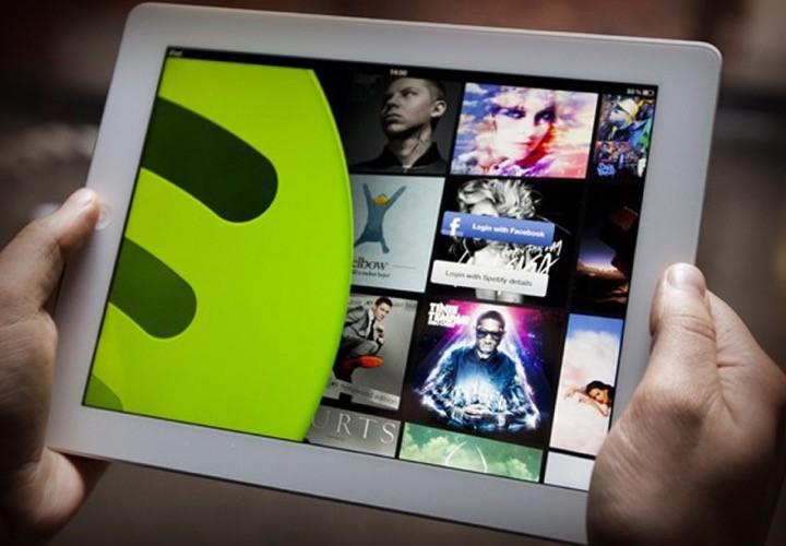 Spotify tablet