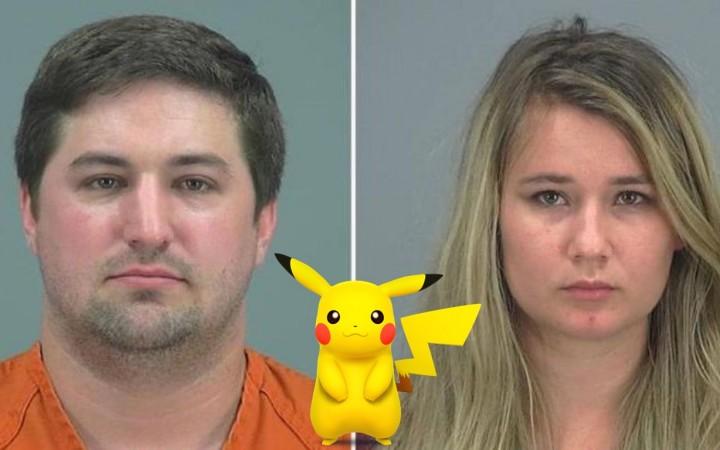 Casal abandona filho para apanhar Pokémons01