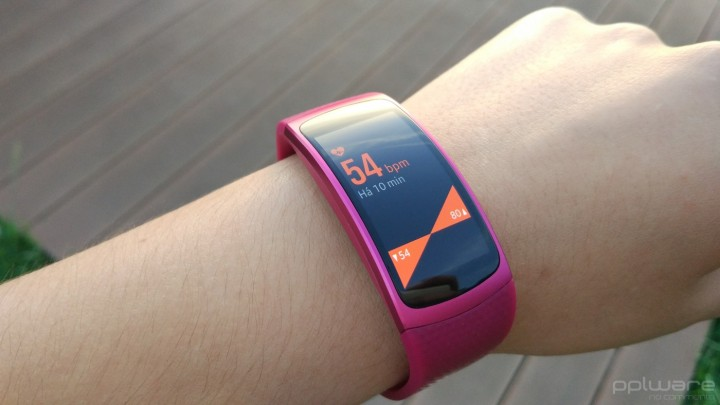 Samsung Gear Fit 2 - Batimentos Cardíacos