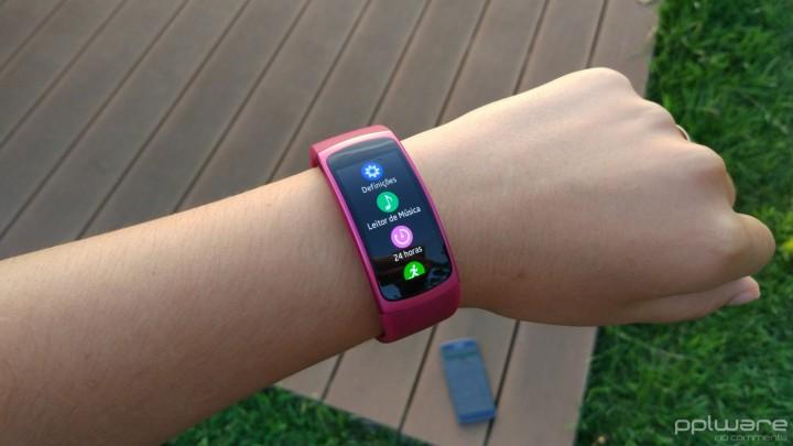 Samsung Gear Fit 2 - Opções