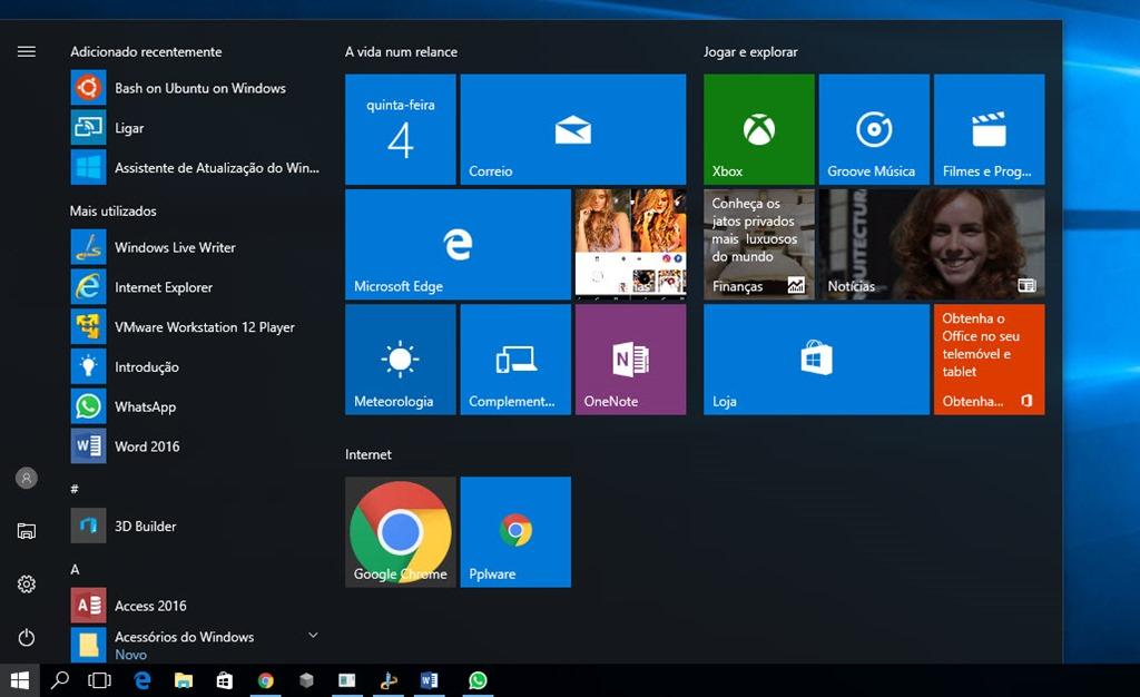 Como activar a Bash no Windows 10 em 8 passos