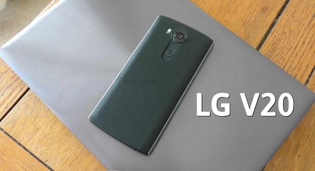 Lg V20 Ser 225 O Primeiro Com Android N 7 0