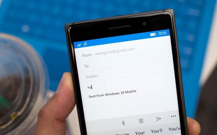 Outlook Gmail mensagem