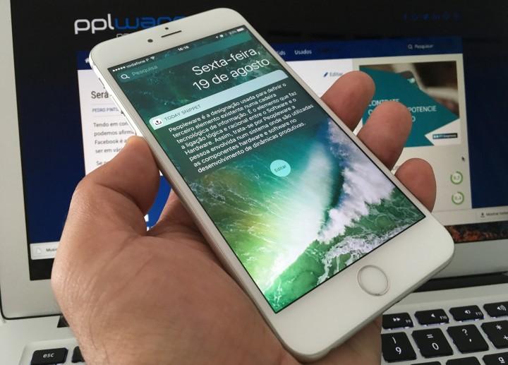 Como adicionar uma Nota no Ecrã Bloqueado do iOS