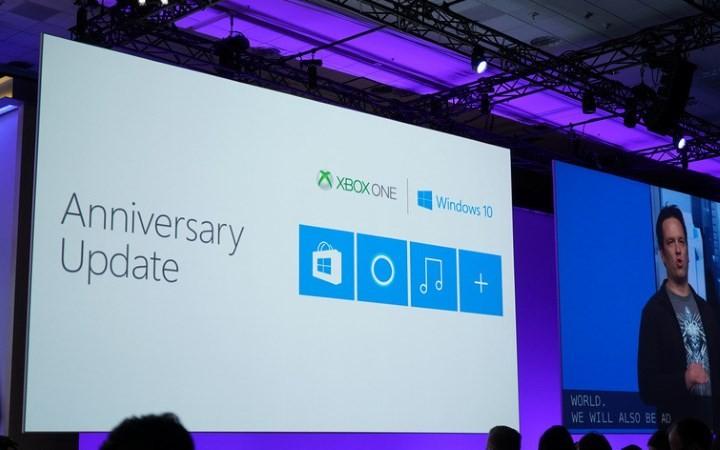 Actualização de Aniversário Microsoft
