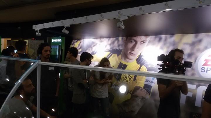FIFA 17 deu pontapé de saída no El Corte Inglés