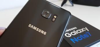 Unboxing - Samsung Galaxy Note7 camara