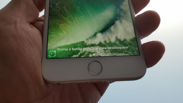 """iOS 10: Active o """"Prima o botão principal para desbloquear"""""""
