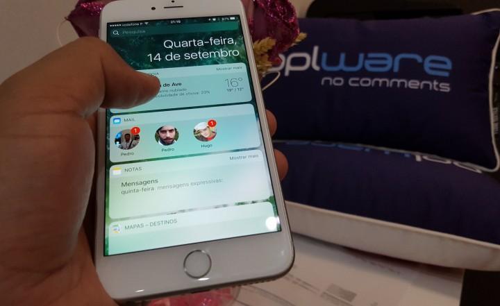 iOS 10 - 13 boas novidades para descobrir no seu iPhone iPad
