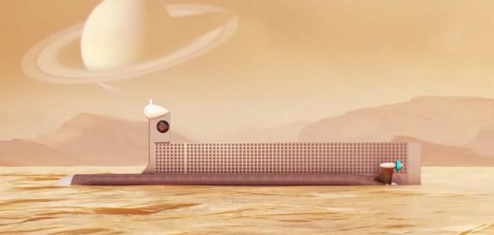 NASA quer enviar submarino autónomo para explorar mar de Titã
