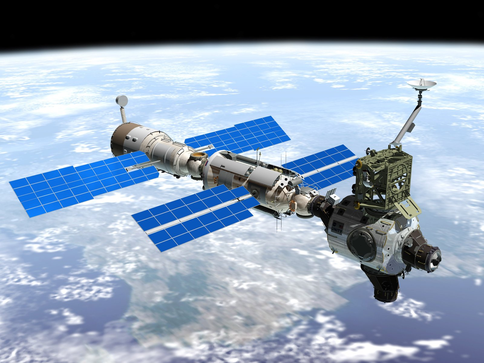 china space station - HD 1600×1200
