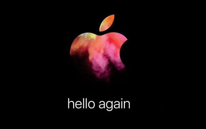 Apple evento convite