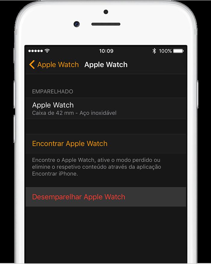 App Watch no iPhone