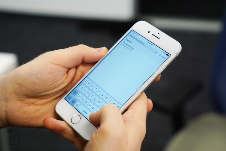 iOS teclado