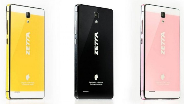 zetta smartphones