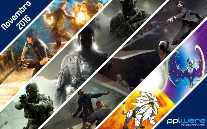Videojogos Novembro 2016
