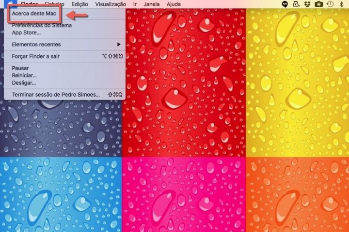 macOS Acerca deste Mac