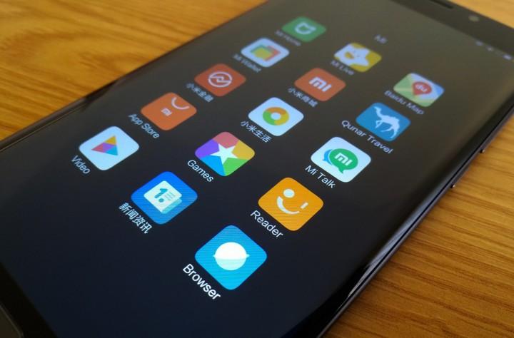 Mi Note 2 - apps