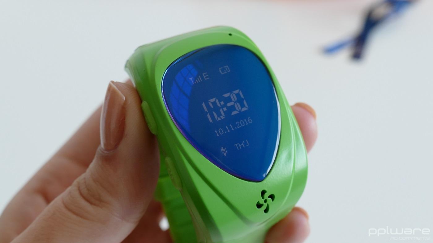 943448e851d Análise  relógio T18 Tracker Kid - Pplware