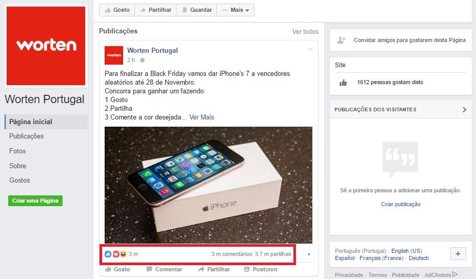 4ea660ff4e4 Black Friday  Cuidado com as ofertas fraudulentas no Facebook