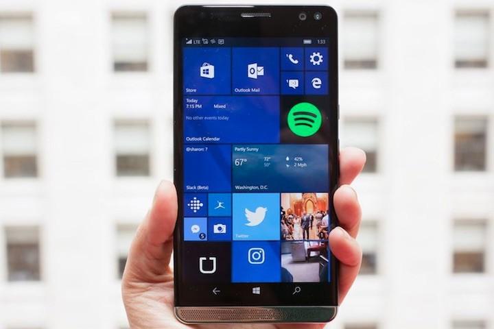 HP X3 Microsoft Windows 10 Mobile