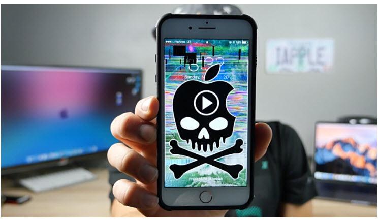 Vídeo de apenas 5 segundos pode travar iPhone