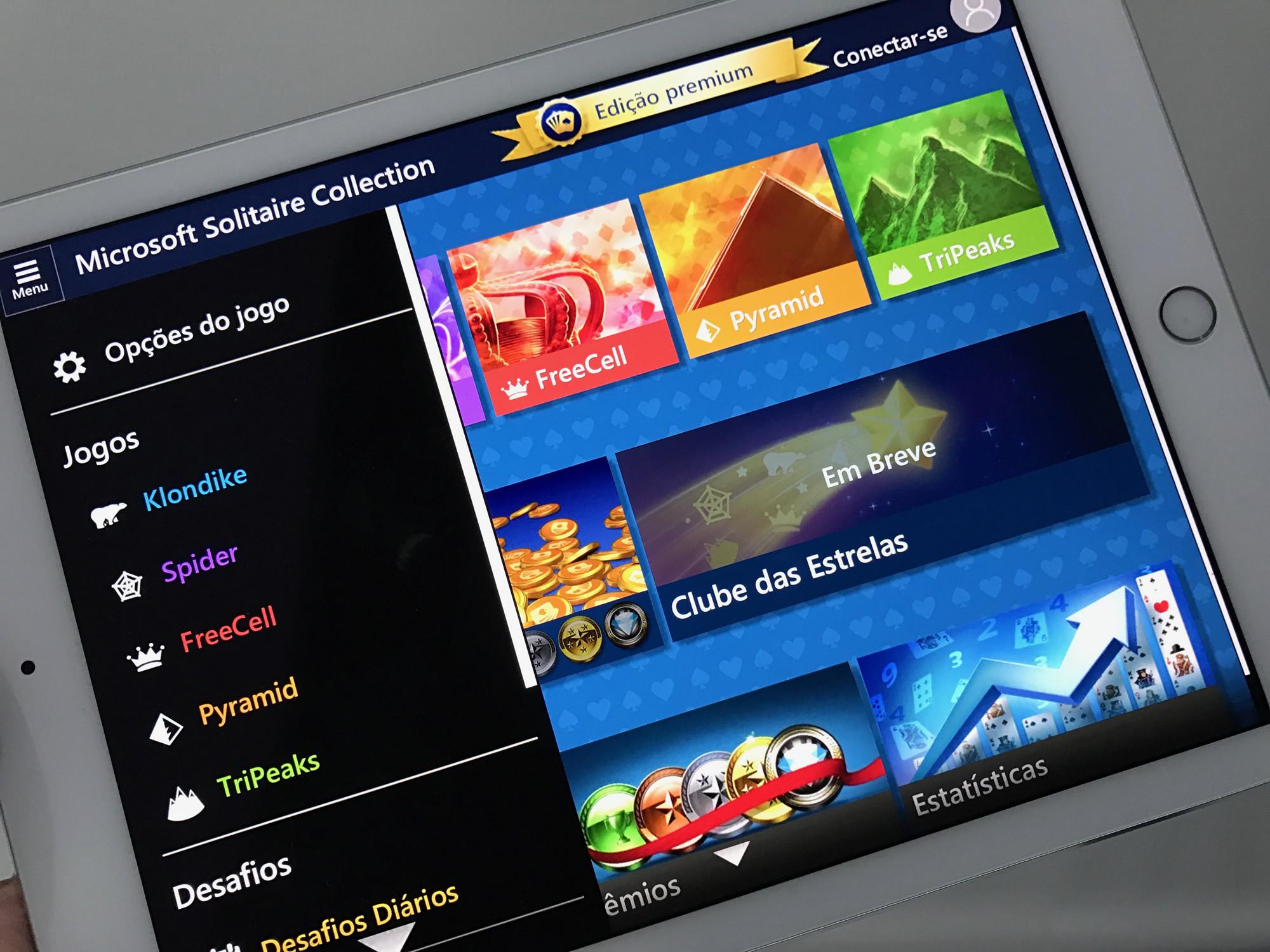 Microsoft lança Paciência, clássico do Windows, para Android e iOS