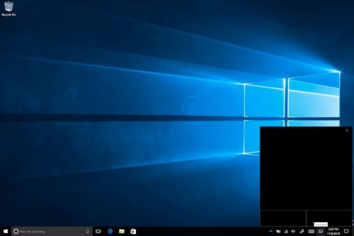Windows 10 trakckpad