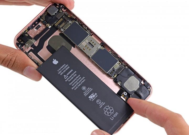 iPhones 6s bateria