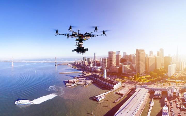 Apple estará a usar drones para melhorar Apple Maps