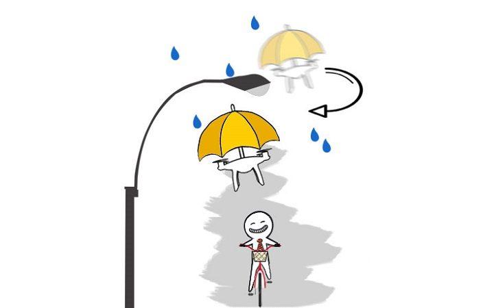 drone umbrella 2
