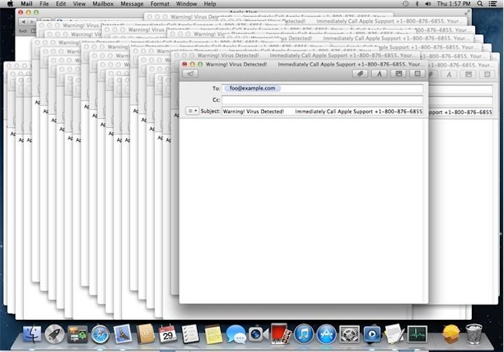 macOS malware DoS