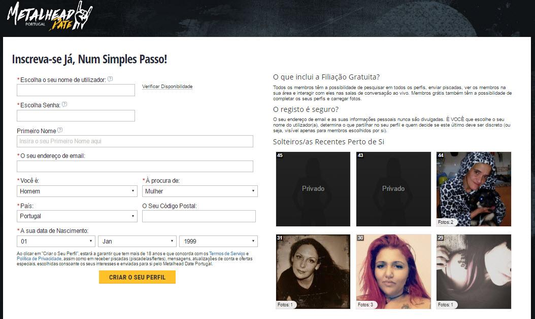 Metal head dating site