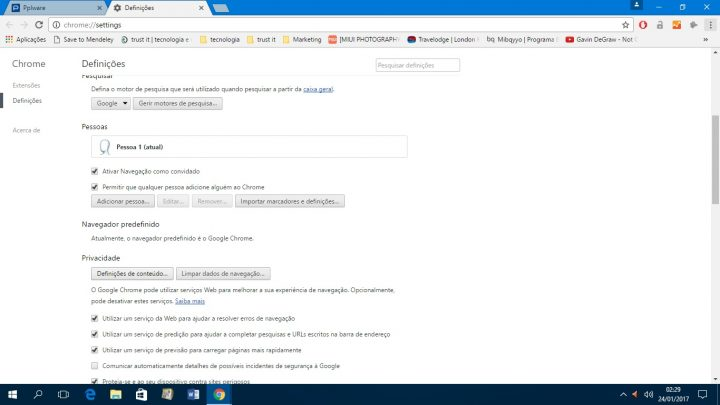 notificações - Chrome 3